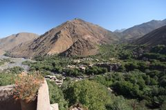 High Atlas Landscape Stock Images