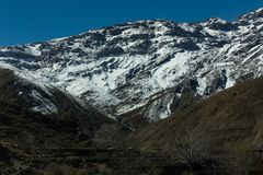 High Atlas Mountain. In Morocco Royalty Free Stock Images