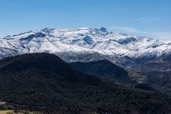 High Atlas Mountain. View of High Atlas Mountain Royalty Free Stock Image
