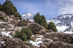 High Atlas Mountains. Near Imlil, Morocco Stock Photography