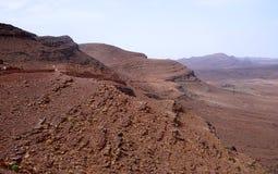 View of high altitude mountains in Morocco Stock Photos