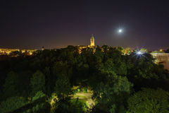 High Authority of the European Coal and Steel Community. Of Luxembourg at night Stock Images