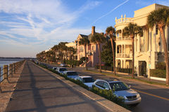 High Battery Charleston South Carolina Royalty Free Stock Photos