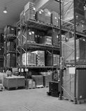 High bay racking Stock Images