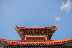 High beautiful traditional Chinese pavilion. High beautiful traditional Chinese pavilion Royalty Free Stock Photos