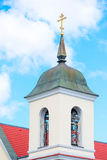 High bell tower of an Orthodox church Royalty Free Stock Photos