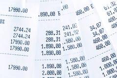 High bills Royalty Free Stock Photography
