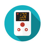 High blood pressure concept. Vector illustration Stock Photography