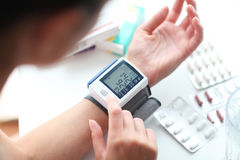 High blood pressure. Royalty Free Stock Photography