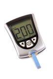 High blood sugar level Royalty Free Stock Image