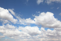 The high blue sky Stock Images