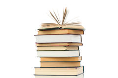 High book heap Royalty Free Stock Image