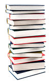 High books stack Stock Photo