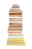 High books stack Stock Photos