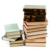 High books stack Stock Image