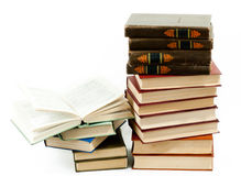 High books stack Royalty Free Stock Image
