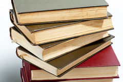 High books stack Royalty Free Stock Photo