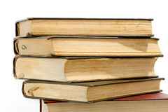 High books stack Royalty Free Stock Images
