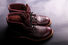 High boots. Fashionable Royalty Free Stock Photo
