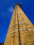 A high brick chimney Royalty Free Stock Images