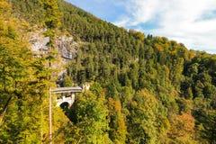 The High Bridge (Die Hohe Bruecke) in Austria Stock Images