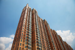 The high building. With apartment Stock Images
