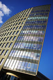 High building. Modern high office building with tons of blue Royalty Free Stock Photography