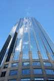 High building in Boston center architecture Royalty Free Stock Image
