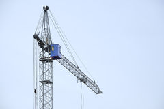 High building crane Royalty Free Stock Photos