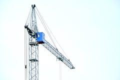 High building crane Stock Photo