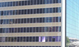 High Building Exterior Windows Stock Image