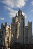 High building in Moscow. Russia Stock Photography