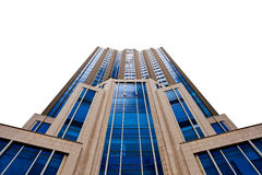 Free High Building On White Background Stock Images - 25861804