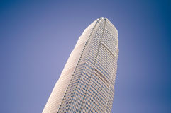 High building. Tall buildings blue sky, glass, dense, structure, architecture Stock Photos