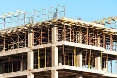 High building under construction Stock Image