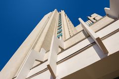 High Building With Perspective Stock Image