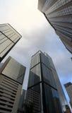 High business buildings. In Hong Kong Stock Photos