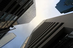 High business buildings. In Hong Kong Stock Images