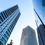 High business buildings. Royalty Free Stock Images