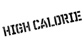 High Calorie rubber stamp Stock Image