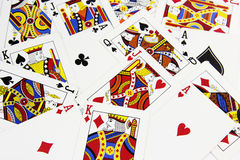 High Cards Royalty Free Stock Photos