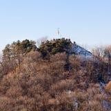 High Castle in Lviv. Mountain, Ukraine Stock Image