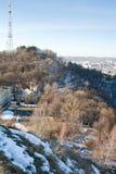 High Castle in Lviv. Mountain, Ukraine Stock Photography