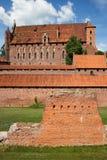High Castle of Malbork Royalty Free Stock Photos