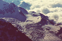 High Caucasus mountains Royalty Free Stock Photo
