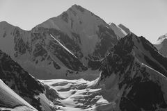 High Caucasus mountains Royalty Free Stock Photo