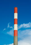 High Chimney With Blue Sky Royalty Free Stock Photos