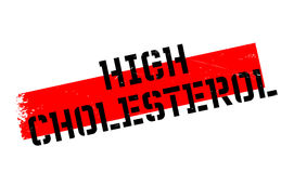 High Cholesterol rubber stamp Stock Photos