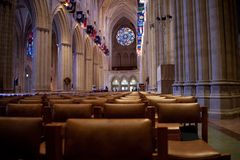 High Church. Interior of the National Cathedral Royalty Free Stock Photography