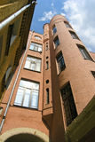 High city constructivism houses. In Moscow Stock Photography